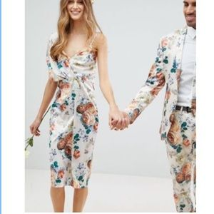 NWT ASOS cocktail floral dress